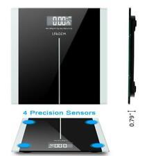 396lb 180kg Digital Bathroom Body Weight Scale HD LCD Health Fitness + Battery