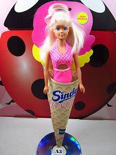 Sindy Ice Cream Doll Strawberry Flavor Pink Swimsuit Hasbro Ceppiratti 90s Vtg