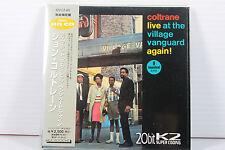JOHN COLTRANE: LIVE AT THE V.V. AGAIN!~JAPAN MINI LP CD/ 20bit K2 HQ CD,ORIGINAL
