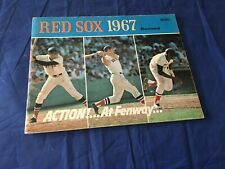 1967 Revised Boston Red Sox Official Baseball Yearbook Conigliaro Yaz on cover