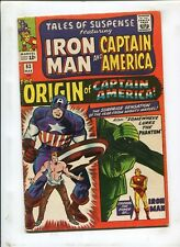TALES OF SUSPENSE #63 - THE ORIGIN OF CAPTAIN AMERICA! - (5.0) 1965