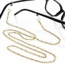 Girls Gold Eye Glasses Chain Strap Lanyard Spectacles Holder Ladies