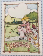 Mary Engelbreit Handmade Magnet-The Queen Of Everything