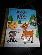 Golden Book Rudolph the Red-Nosed Reindeer A. Staff 1999 Hardcover NEW~FREE SHIP