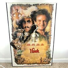 HOOK Large Vintage '92 Movie Poster Robin Williams Julia Roberts Bob Hoskins