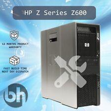 HP Z600 Cheap Configurable Workstation Inc Windows 10Pro - CPU/RAM/SSD/HDD/GPU