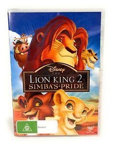 The Lion King 2: Simba's Pride (DVD, 1998) Kovu New & Sealed R4 Free Postage