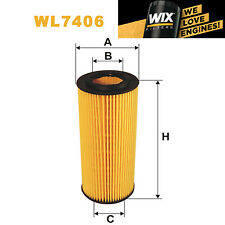 1x Wix Oil Filter WL7406 - Eqv to Fram CH9994ECO