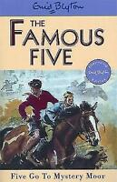 Five Go to Mystery Moor (Famous Five) by Enid Blyton, Acceptable Used Book (Pape