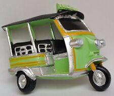 Green Tuk Tuk Car Thai Thailand Holiday 3D Fridge Magnet Souvenir Bangkok