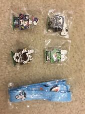 New Tokidoki Peanuts Snoopy SDCC 2017 Exclusive 4 Pins and 1 snoopy lanyard