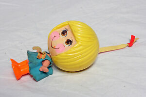 Mattel Talk Up Doll 1971 Complete and Working With Dress Loop Talking Doll!