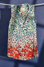 NWT Anthropologie Colloquial Sleveless Buttondown Size XL