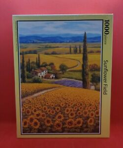 """[Puzzle life ] """"Sunflower Field"""" 1000 Piece Jigsaw Puzzles"""