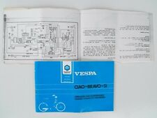 Piaggio ciao bravo si operation maintenance owner manual NOS