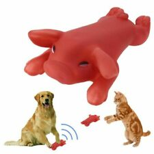 Squeky Dog Toy Rubber Pig Squeak Chew Toys Squeaker Screaming Sound Dog Cat Toys