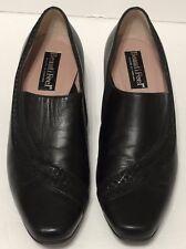 Women's Beautifeel Susan Shoes Black Leather Pumps Israel US 6 Inlay Design