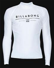 Tag Billabong Mens XXL All Day Unity Wet Shirt Rash Vest Long Sleeve Black