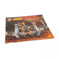 1 x Lego System Bauanleitung Star Wars Ultimate Lightsaber Duel 7257