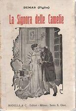 (Dumas (figlio)) LA signora delle camelie 1932   Madella