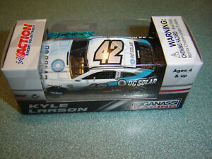 KYLE LARSON #42 DC SOLAR DARLINGTON 2018 Chevy 1/64 NASCAR DIECAST FREE SHIP