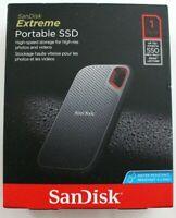 SanDisk Extreme Portable USB 3.1 (Gen 2) SSD - 1TB #SDSSDE60-1T00-G25