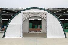 New 30x40x15 Canvas Fabric Storage Building Shelter Shop Metal Frame w/ warranty