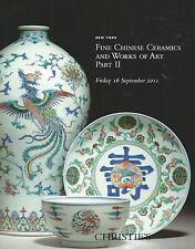 CHRISTIE'S CHINESE CERAMICS JADES PORCELAIN BRONZES QING Catalog 2011