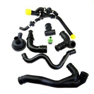 1.8T Crankcase Breather Hose Pipe Valve Kit for Audi A3 TT VW Jetta Seat Skoda