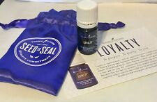 Young Living Loyalty Essential Oil 5ml Purple Drawstring Bag Product Card SEALED