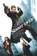 SHOOT 'EM UP MOVIE POSTER 2 Sided ORIGINAL FINAL 27x40