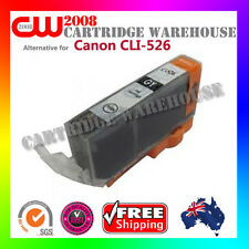 1X CLI526 CLI-526 Ink Cartridges Canon IP4800 IP4850 IX6550 MX885 Printer Grey