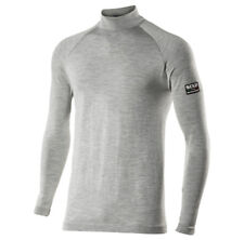 Maglia SIXS TS3 MERINOS Lupetto maniche lunghe Carbon Merinos Wool TG S/M