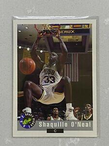 1992 Classic Draft Picks SHAQ Shaquille O'Neal Rookie #1 TRUE FIRST RC CARD!!!