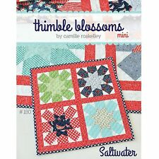 Saltwater MINI Quilt Pattern #180 by Thimble Blossoms