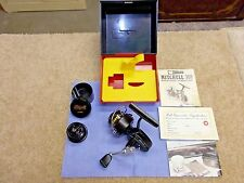 Vintage Garcia Mitchell 308 UL Spin Reel in Original Boxed Set NEW and UNUSED