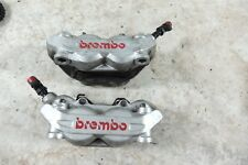 09 Ducati Monster 1100 S front brake calipers right left