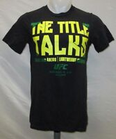 Rafael Dos Anjos UFC Men's S, M, L, 2XL Title Graphic T-Shirt MMA Reebok
