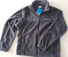 Columbia Men's Gray Fleece Mount Grant Full Zip Jacket Medium Nwt M Men New