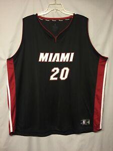 "NBA Miami Heat Justice Winslow ""87 Crosby"" Fanatics Custom Jersey Size 5XL"