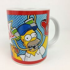 The Simpsons Homer Simpson #1 Party Animal Beer Hat Mug 2009 exclusive England