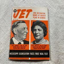 JET Magazine July 20 1961 Governor Barnett Attorney Motley