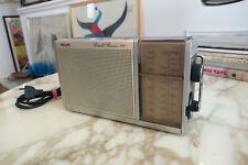 Radio Philips Portable Receiver 290 vintage 1977 FM