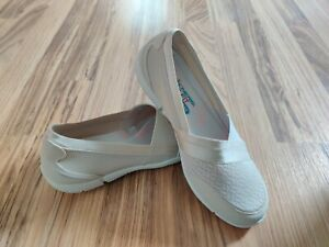 Skechers Be-Lux Daylights 100026 Comfort Shoes Women's Size 8.5 Natural NWOB