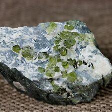 DEMANTOID GARNET.. NICE QUALITY! from Sferlun Mine, Malenco Valley, Italy #2863