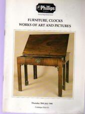 Furniture, Clocks Works of Art and Pictures, Phillips