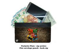 pochette zip - envelope pouch -  harry potter hogwarts poudlard #01