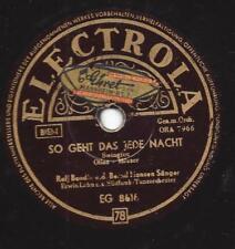 Ralf Bendix singt Freddy Quinn 1955 : So geht das jede Nacht
