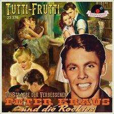 """7"""" PETER KRAUS & DIE ROCKIES Tutti-Frutti LITTLE RICHARD Straße der POLYDOR 1956"""