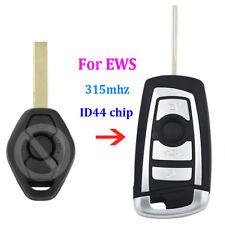 Modified flip 315MHZ remote key fob for BMW EWS E38 E39 E46 with ID44 chip HU92